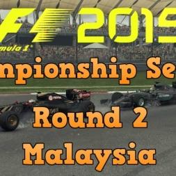 F1 2015 Championship Season Round 2 - Malaysia