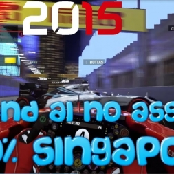 F1 2015 Gameplay Singapore 100% Race Sebastian Vettel
