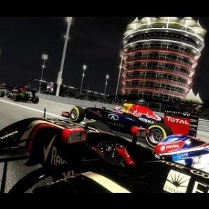 F1 2015 Multiplayer Bahrain Online Race Night Race