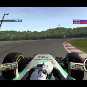F1 2015 - 2014 Mercedes - Hungary HL