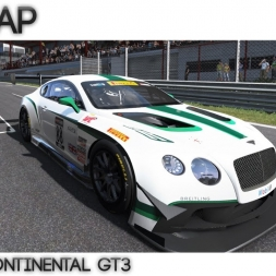 Project Cars - Hotlap Spa |  Bentley Continental GT3  - 2:16.952 + Setup