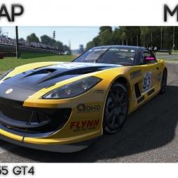 Project Cars - Hotlap Monza |  Ginetta G55 GT4  - 1:54.854 + Setup