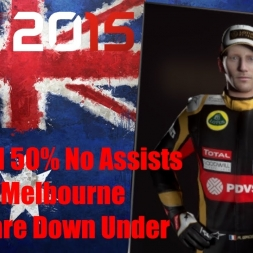 F1 2015 Australia Romain Grosjean Championship Season Nightmare Down Under