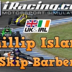 iRacing UK&I Skip Barber Round 4 at Phillip Island