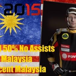 F1 2015 Malaysia Romain Grosjean Championship Season Magnificent Malaysia
