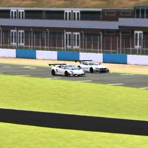 Small online battle while testing the EEC GT3 mod for Stock Car Extreme