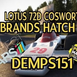 Project Cars: Lotus 72D Cosworth: Brands Hatch GP