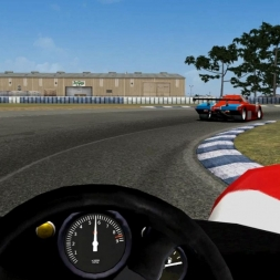 Sebring - Courage Cosworth Driver's View - Game Stock Car Extreme