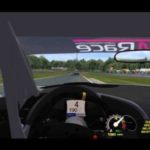 rFactor onboard audi R8 LMS@nordschleife