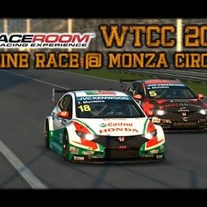 R3E Raceroom - WTCC 2014 - Online Race @ Monza