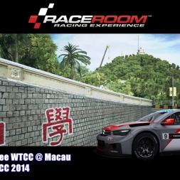 Citroen C Elysee WTCC @ Macau - WTCC 2014 - RaceRoom Racing Experience