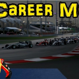 F1 2015 Career Mode: Part 4 - Bahrain