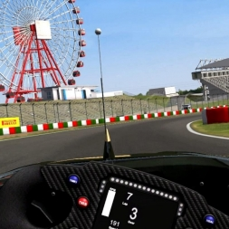 Kansai (Suzuka) - Formula Extreme Driver's View - Game Stock Car Extreme