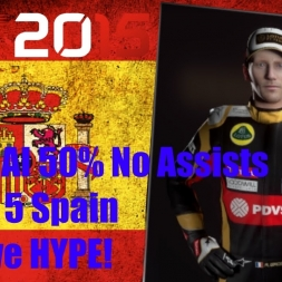 F1 2015 Spain Romain Grosjean Championship Season TOP 5