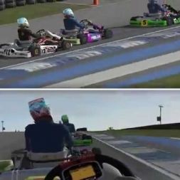 rFactor 2: Karting at Atlanta Motorsport Park
