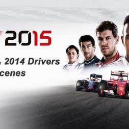 F1 2015: All 2015 & 2014 Drivers - Podium Scenes