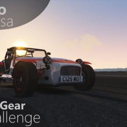 Assetto Corsa Top Gear Challenge #27 - Caterham Academy