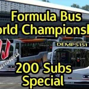 Assetto Corsa, Formula Bus, 200 Subs Special