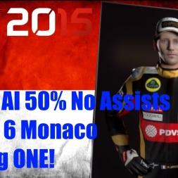 F1 2015 Monaco Romain Grosjean Championship Season PODIUM