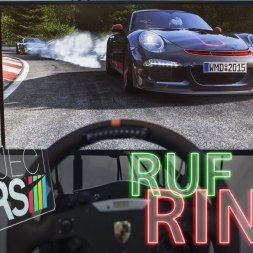 Triple screen Project CARS | RUF on RING | #simporn 60fps onboard + POV