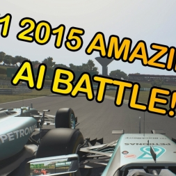 F1 2015 AMAZING AI BATTLE