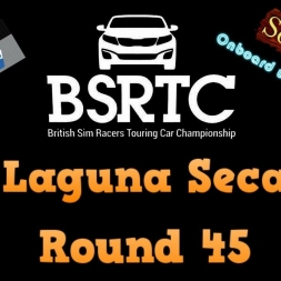 iRacing BSRTC Round 45 from Laguna Seca