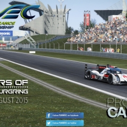 FIA WEC * 6h of Nürburgring * Audi R18 e-tron 2015 * Project Cars [2.5]