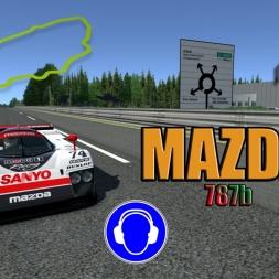 Assetto Corsa * Mazda 787b * LeMans * setup * hotlap