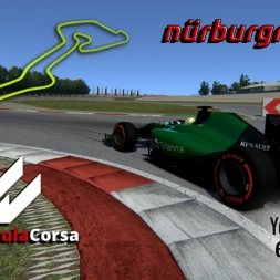 Formula Corsa * Nürburgring GP * hotlap * setup