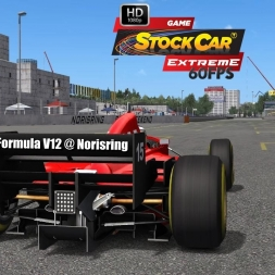 Formula V12 @ Norisring Driver's View - Stock Car Extreme 60FPS
