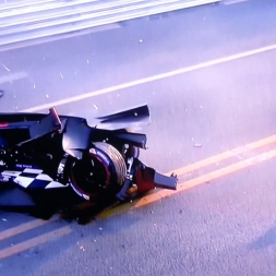 Formula E - crash Prost vs. Heidfeld at Beijing