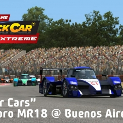 """Stock Car Extreme: Bumper Cars!"" (Metalmoro MR18 at Buenos Aires)"