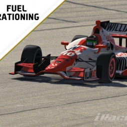 """iRacing: Fuel Rationing"" (DW12 at The Milwaukee Mile)"