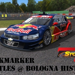 """GSCE: Backmarker Battles!"" (Brazilian Stock Car JL G-09 Chevy Sonic at Bologna Historic)"
