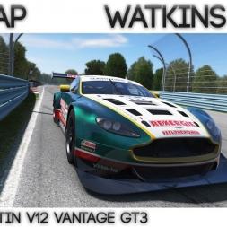 Project Cars - Hotlap Watkins Glen | Aston Martin GT3  - 1:43.024 + Setup
