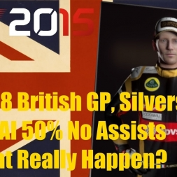 F1 2015 British GP Romain Grosjean Did That Really Happen