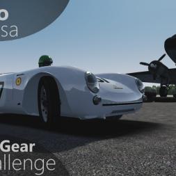 Assetto Corsa Top Gear Challenge #28 - Porsche 550/1500RS Spyder