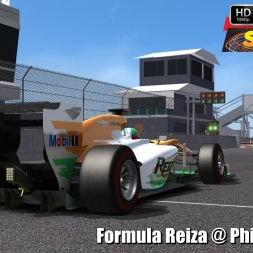 Formula Reiza @ Phillip Island Driver's View - Stock Car Extreme 60FPS
