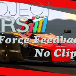 Project Cars Force Feedback Setup - No clipping g27