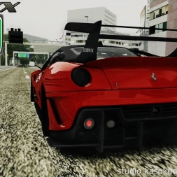 Ferrari 599XX Evoluzione at Shuto Expressway C1 Loop (Clockwise) - Assetto Corsa