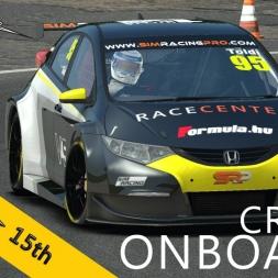 Simracing PRO | Honda Civic Challenge | Croft Circuit R2 | Balazs Toldi OnBoard
