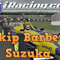 iRacing UK&I Skip Barber Round 6 at Suzuka
