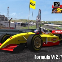 Formula V12 @ Zandvoort Driver's View - Stock Car Extreme 60FPS