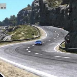 Project CARS - Audi R8 @ Azure Coast (Monaco coastline)