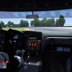 Assetto Corsa - Nissan GT-R GT3 @ Imola
