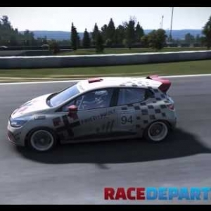 pCARS: Renault Clio Cup @ Nürburgring Sprint Short - Tuesday July 28, 2015