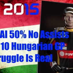 F1 2015 Hungarian GP Romain Grosjean Championship Season Struggle Is Real