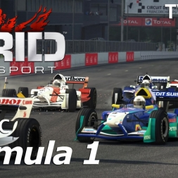 GRID Autosport - Classic F1 Skins @ Spa Francorchamps - TV-Cam - 60fps