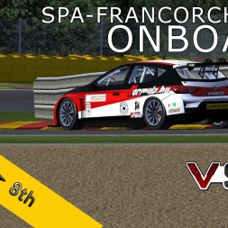 VSR SEAT LEON EUROCUP 2015 | Spa-Francorchamps R1 | Balazs Toldi OnBoard