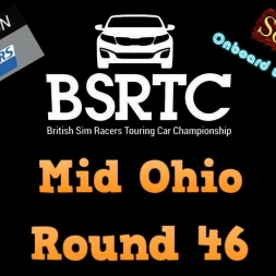 iRacing BSRTC Round 46 from Mid Ohio